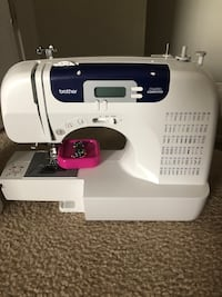 white and blue Brother electric sewing machine McDonough, 30253