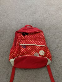 Red backpack Triangle, 22172