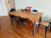Dining room table with 4 chairs  Toronto, M6G 2N9