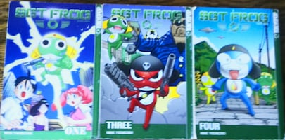 SGT Frog Manga - Few Volumes