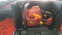 red and black Troy-Bilt gas chainsaw Boston, 02124