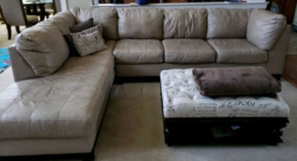 Beige Leather Sectional b7f3326e-14eb-43fd-93a2-4a3afea979bb