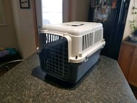 white and black pet carrier Calgary, T2X 1Z4