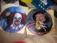Freddy Kruger and It hand painting S45 for both Los Angeles, 90732