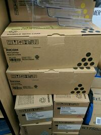 Ricoh Printer Cartridges (Colour + Black & White) Toronto, M1E 1P1