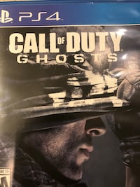 Sony PS4 Call of Duty Ghosts case Montréal, H4M