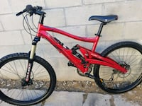red and black full-suspension bike Los Angeles, 90044