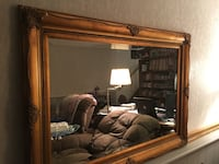 "Nice large mirror. 32""x 44"". Excellant condition.  Heavy."