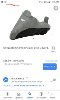 Motorcycle cover 15.00
