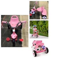 Radio Flyer, Ready to Ride Folding Trike, Fully Assembled, Pink