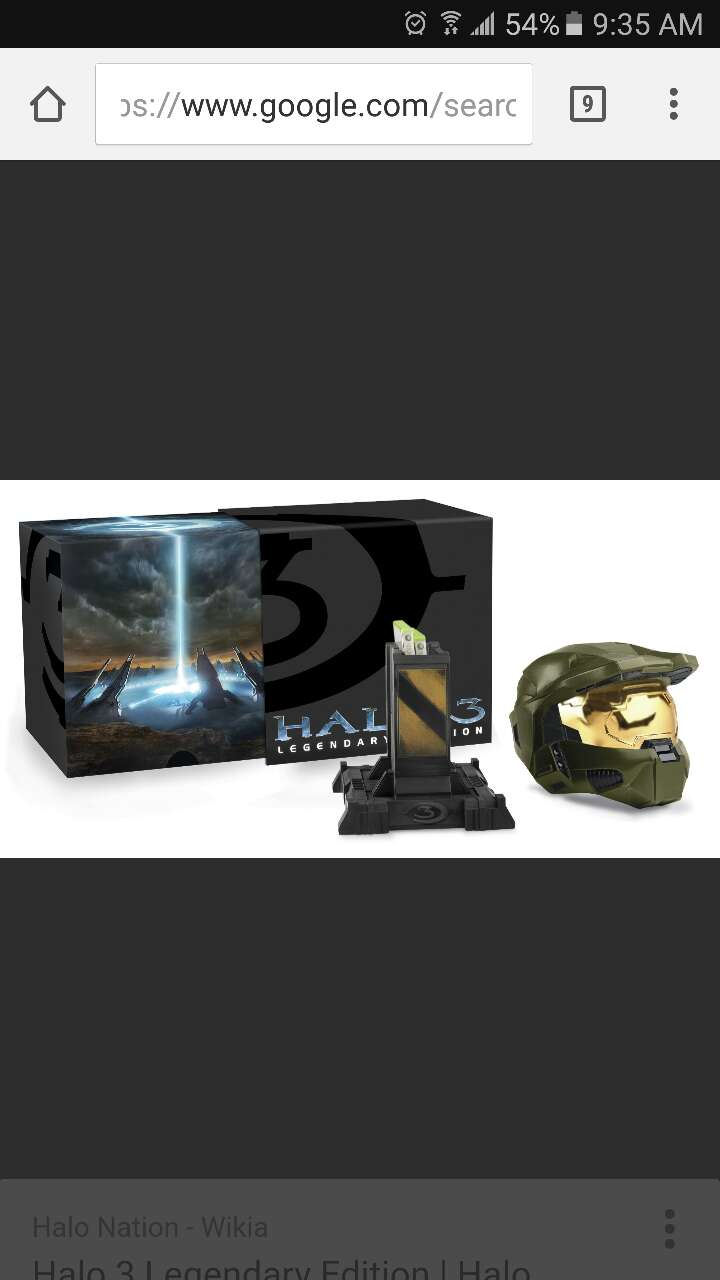 brown Halo 3 helmet with box screenshot for sale  Yonkers