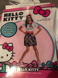 Hello Kitty Tween costume Whitchurch-Stouffville, L4A 1J9