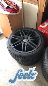 5x112 Audi RS4 wheels with tires 80% Surrey
