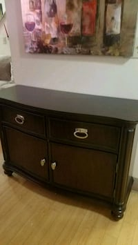 brown wooden dresser with mirror Lowell, 01854