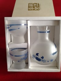 Saki decanter and glass set New  Toronto, M8Y 4H9