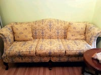 brown and black floral 3-seat sofa Richmond Hill, L4C 5H1