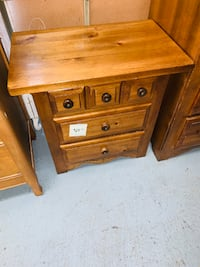 #A462 - 3 Drawer Night Stand Marion