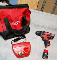 Milwaukee M12 drill/driver kit Pickering, L1X 2H4