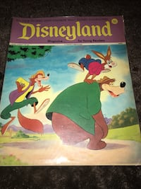 Vintage Disneyland magazine for young readers Hackensack, 07601