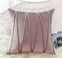 Finel Square Decorative Throw Pillow Covers Soft Velvet