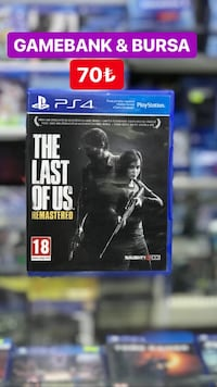 Ps4 THE LAST OF US TÜRKÇE SATIŞ & TAKAS  Osmangazi, 16010