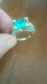 Blue teurqois ring Winnipeg, R2W 0R6