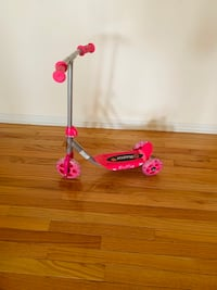 Pink Scooter 3-5 years old