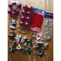 Bundle Christmas Tree Ornaments Burnaby
