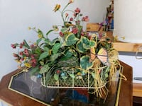 Flowers with basket