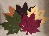 Fall/ Thanksgiving placemats  523 mi
