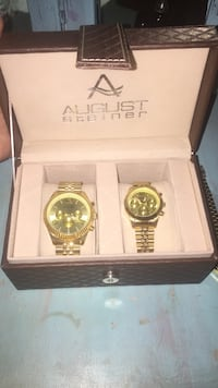 Gold  plated 'his and her' watches Fort Walton Beach, 32547