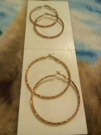 twisted copper hoop earrings Renton, 98057