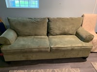 brown suede 2-seat sofa Towson, 21204