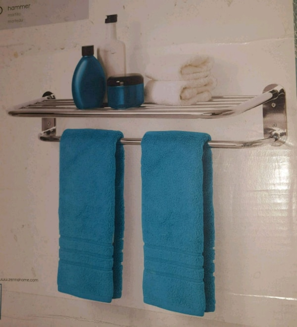 Hotel Shelf And Towel Bar Usagé à Vendre à Hayward Letgo