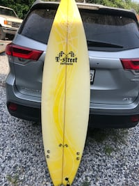 Surf board 6 ft tall