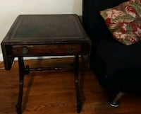 Antique vintage small table with leafs expansion extension wood DIY Hyattsville, 20784