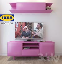 PINK TV STAND AND WALL SHELF. Brand NEW Toronto, M4J