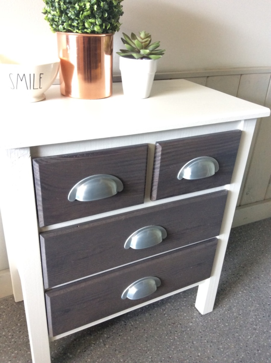 Two new solid wood side tables - British Columbia
