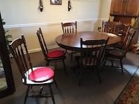 Ethan Allen dining room set, six chairs Seaford, 19973