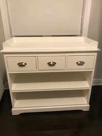 white wooden 3-drawer chest Vaughan, L4H 0X3