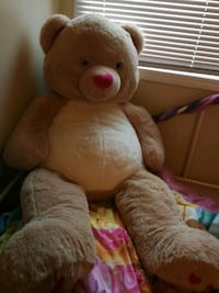 brown and pink bear plush toy Winnipeg, R2J 1A6