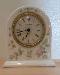 Wedgewood Bone China Clock
