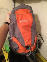 Outdoors camelback backpack