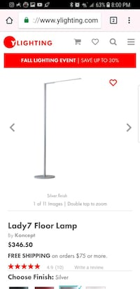 Koncept Lady 7 floor lamp Corona, 92882