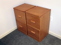 2 Locking File Cabinets 50 km