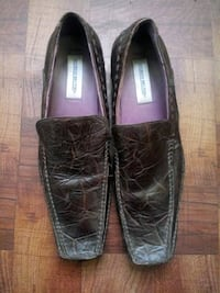 pair of black leather loafers Baltimore, 21213
