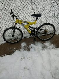yellow and black full suspension mountain bike Chicago, 60636
