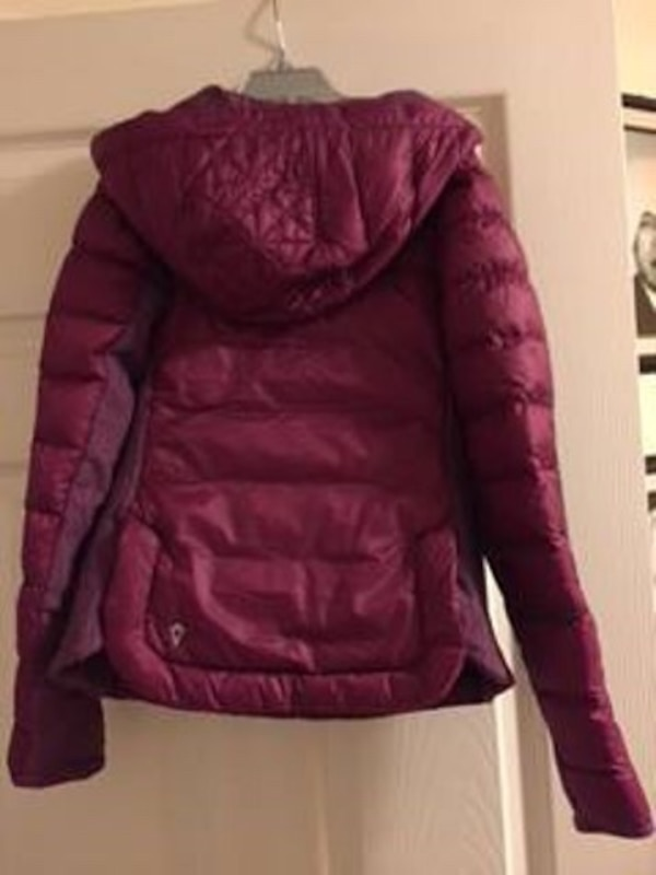 2ab35bcca Used Ivivva Jacket 10 Girls By Lululemon Up To Snow Good Down Burgundy  Pullover for sale in Brampton - letgo