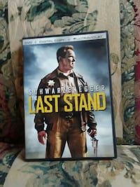 The Last Stand DVD movie case