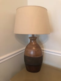 Wood Finish Lamp (OBO) Gainesville, 20155
